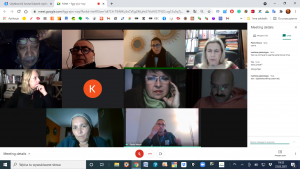 March 2021 online partner meeting
